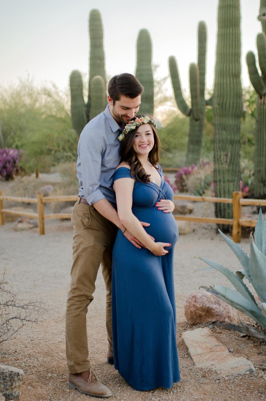 Gilbert, AZ Maternity Session - Desert Photographer