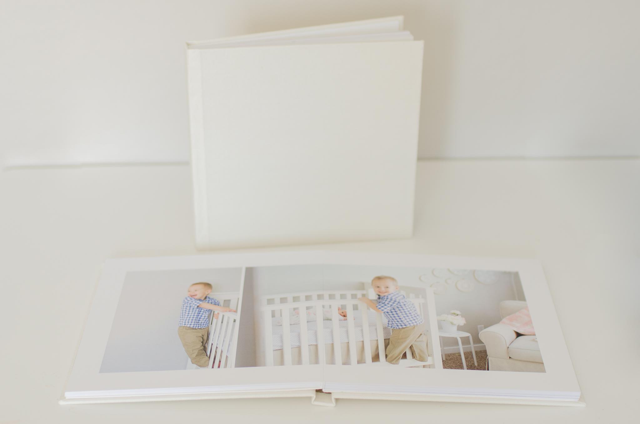 Heirloom Linen 10x10 Album