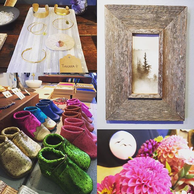 Come visit us today! We have AIR CONDITIONING and a lovely atmosphere to shop your local Artists, handmade beauty! ❤️Brycken #petermcarther #mollymdesigns #tommybreeze #takarajewelry #handmadegifts #localartists