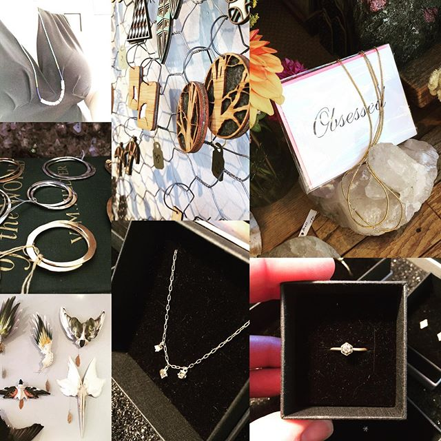 Trouvé Treasures ✨ Handmade Gifts of Unique Origins, these Artists are Dedicated to Creativity and Offering so much Beauty! There is something for EVERYONE here! We have AIR CONDITIONING, so come spend some special quality time in your Favorite little Shop! @trouvestudio @satomi_kawakita_jewelry @abacusrow @mollymdesigns @deannduteil @blumaproject @pointreyesjeweler #trouvestudio #handmade #gifts #artists #airconditioning #lelasheilds #beautifulart