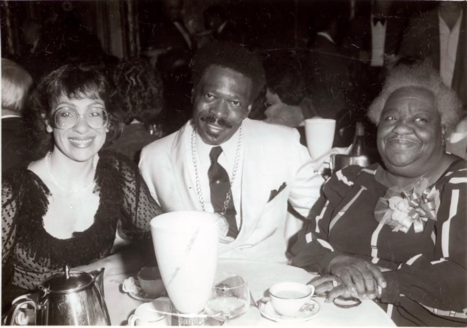 From Left to Right: Kathy Looper, Leroy Looper and Sarah Kearney (Manager of The Cadillac Hotel)