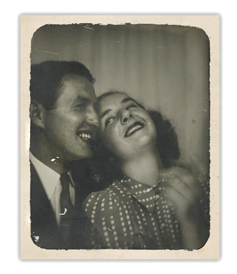 Harry & Jerry in 1941 while they were dating (the beginning of their love story).