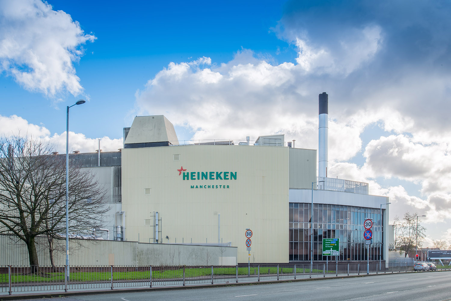 The Heineken Manchester brewery