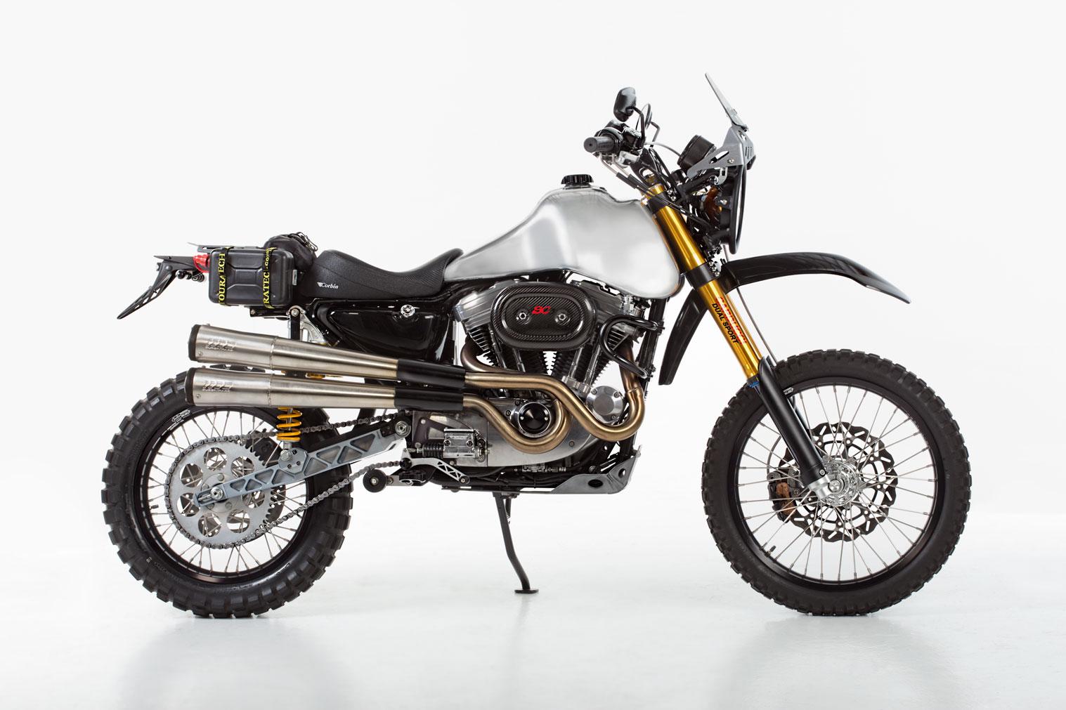 Carducci Dualsport Custom Harley-Davidson Motorcycle