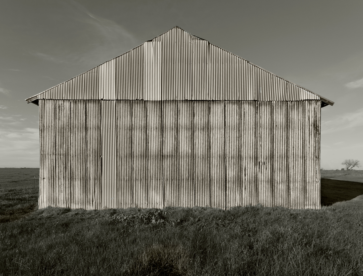 Corrogated Metal Barn