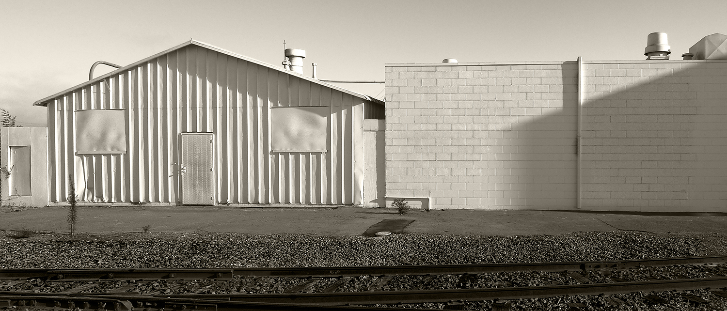 Corrugated and Cinderblock
