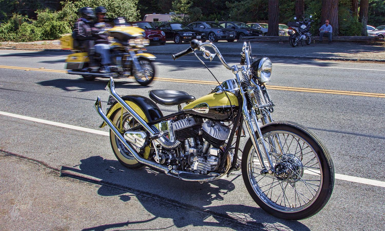 1940 Harley Davidson Flathead Chopper