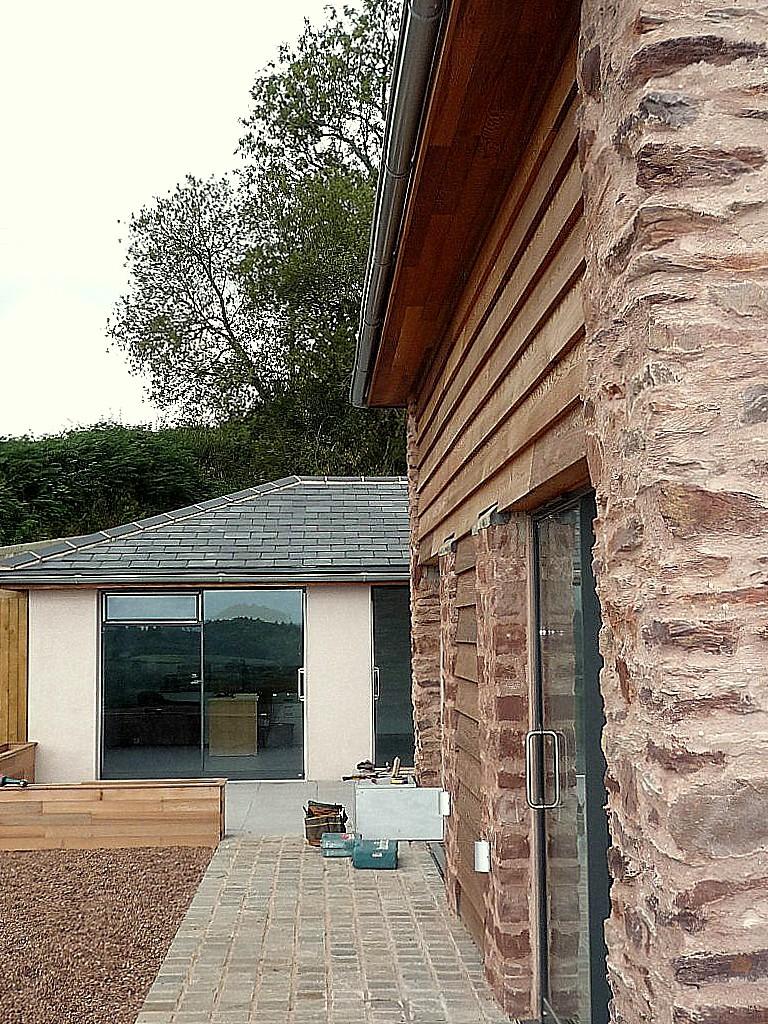 Barn Refurbishment Somerset exterior wall complete.jpg