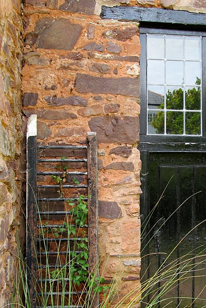 Barn Conversion to office exterior ladder.jpg