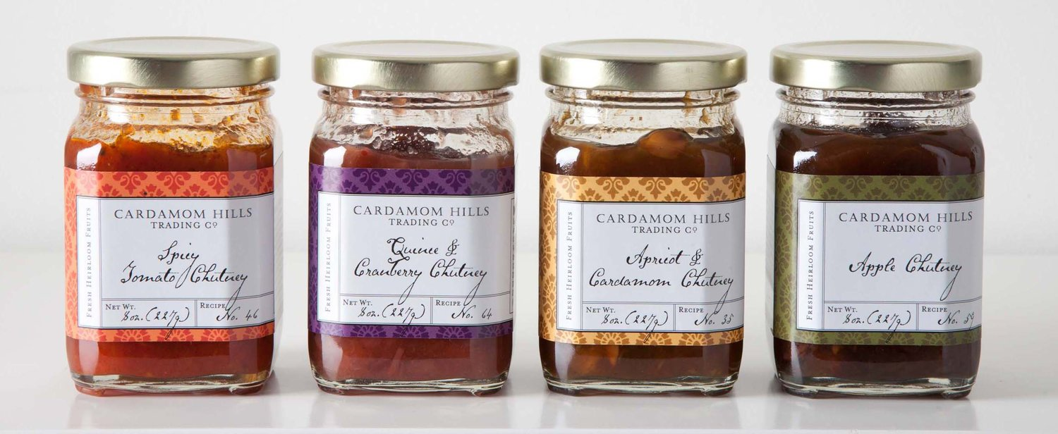 Enter this perfect chutney. Our friend Sophie Rahman handpicks her apples in the Pacific Northwest, and lovingly crafts each jar of this apple ginger chutney in her kitchen using her grandmother's recipes. Now that's sweet.