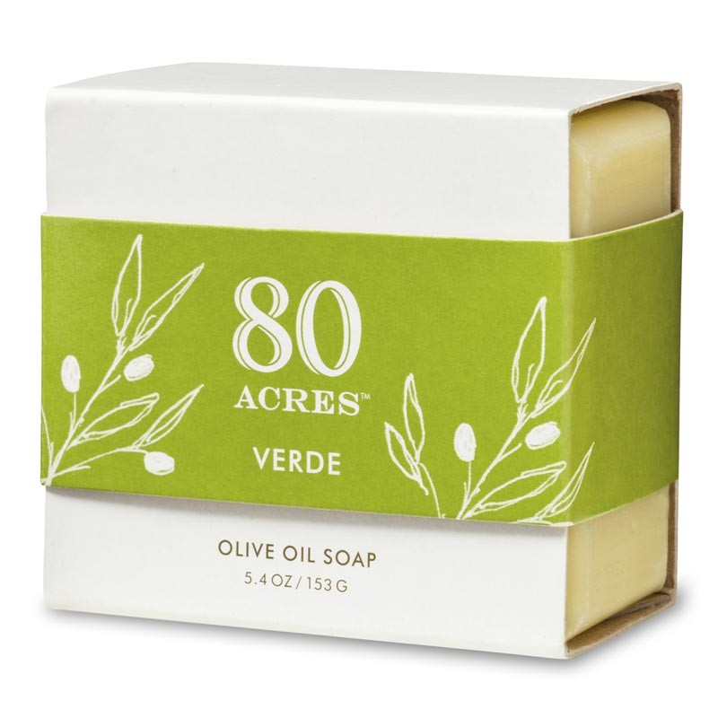 Okay. Remember how the oil was meant to last for one day but lasted for eight instead? We've updated the idea with our favorite olive oil-based soap, so we can remember that miracles are around us all the time — even in the shower.