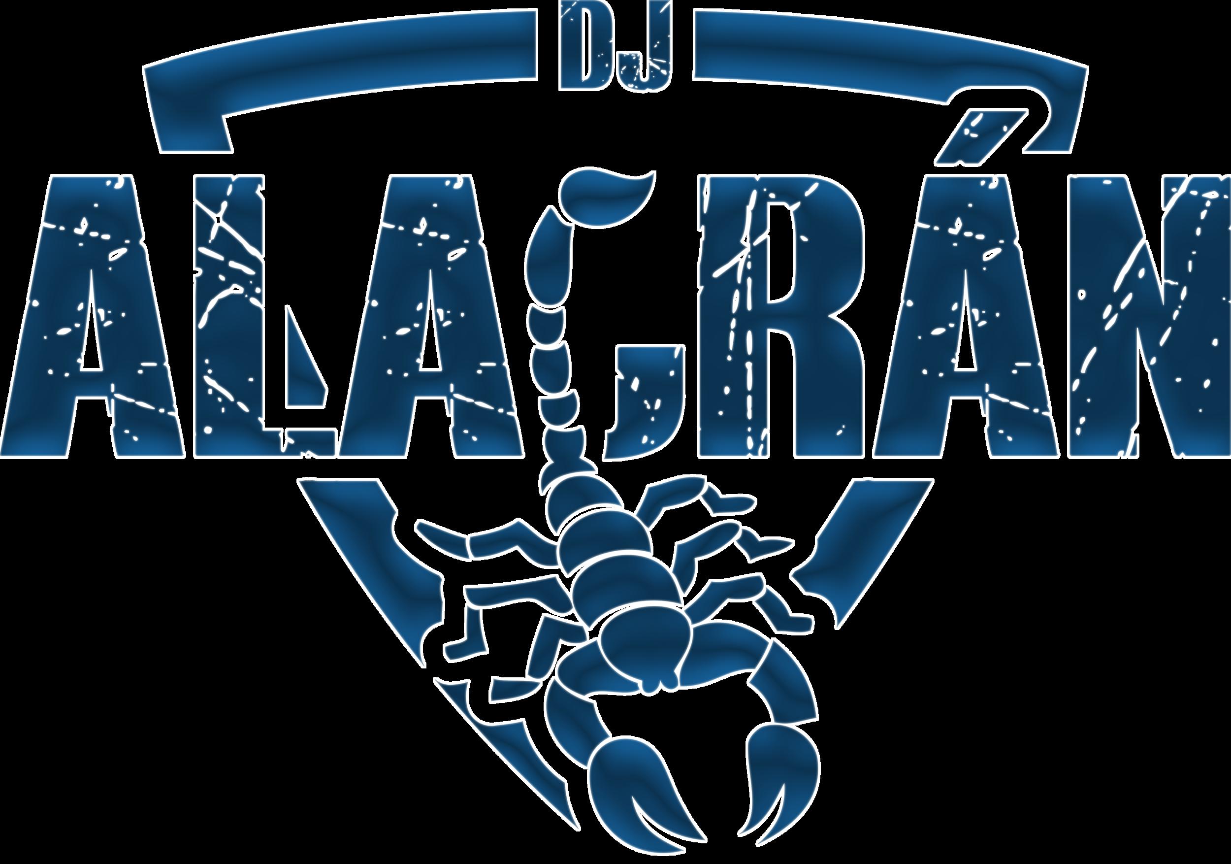 Logotipo DJ Alacrán B&N Final 1.png
