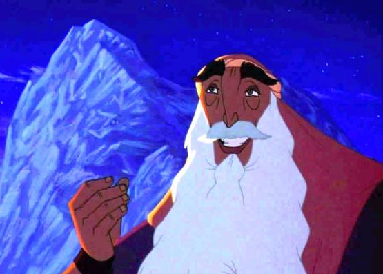 Jethro, as depicted in Dreamworks' The Prince of Egypt   Image Credit: Cornel1801.com