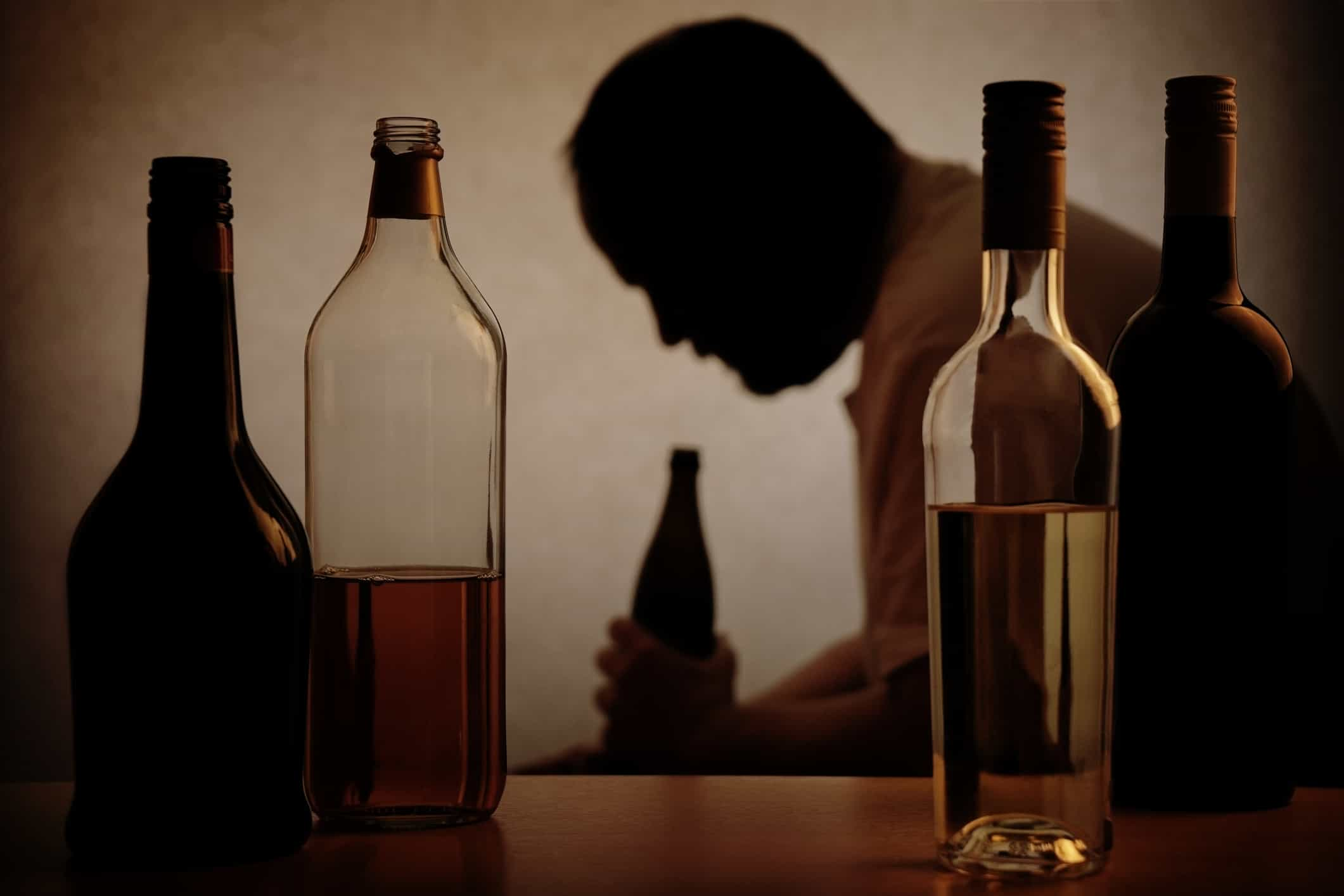 man with an alcohol abuse problem