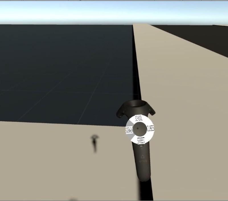 In-Game screenshot of radial menu.