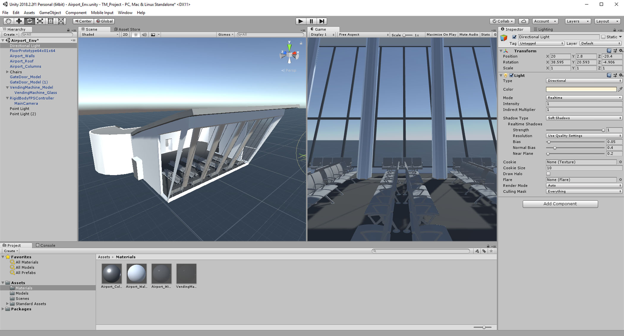 Placing Assets in Unity