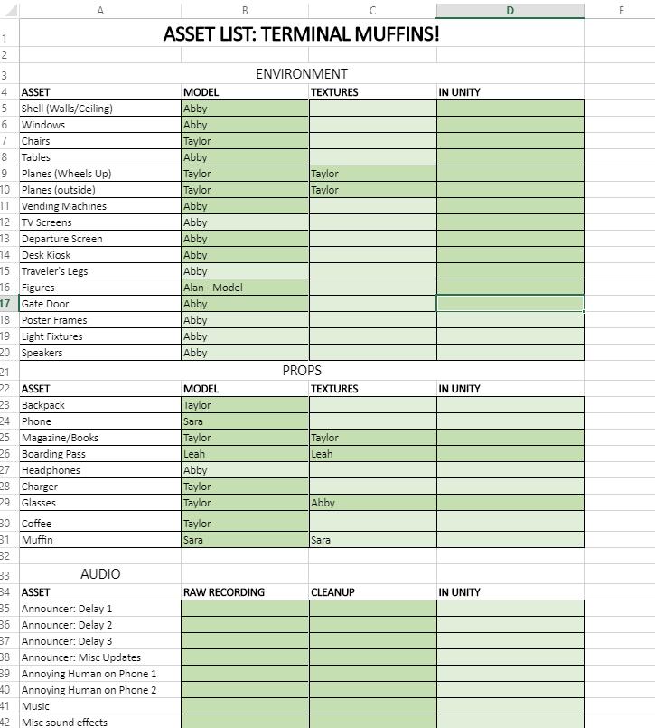 Asset List