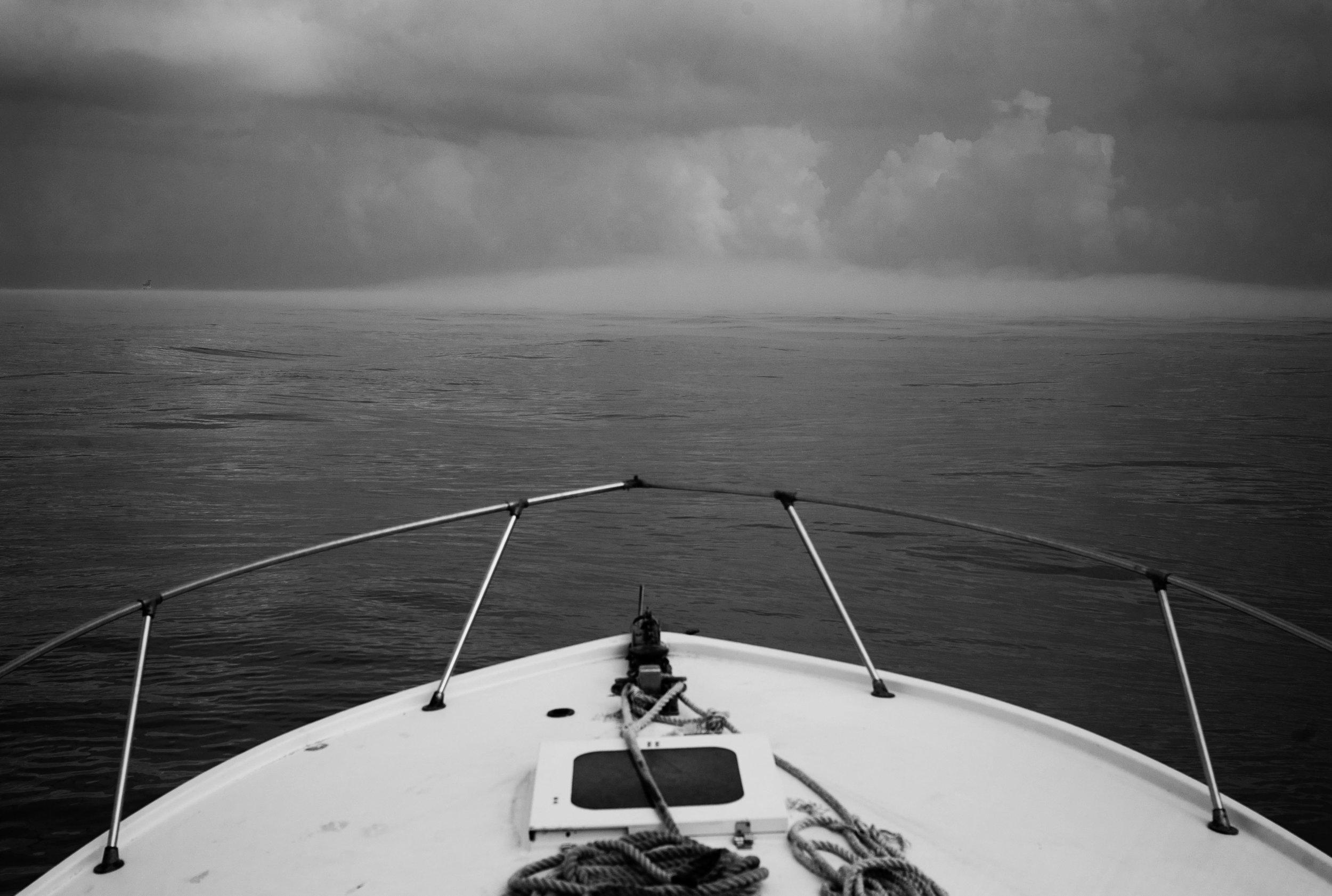 Fog ahead.