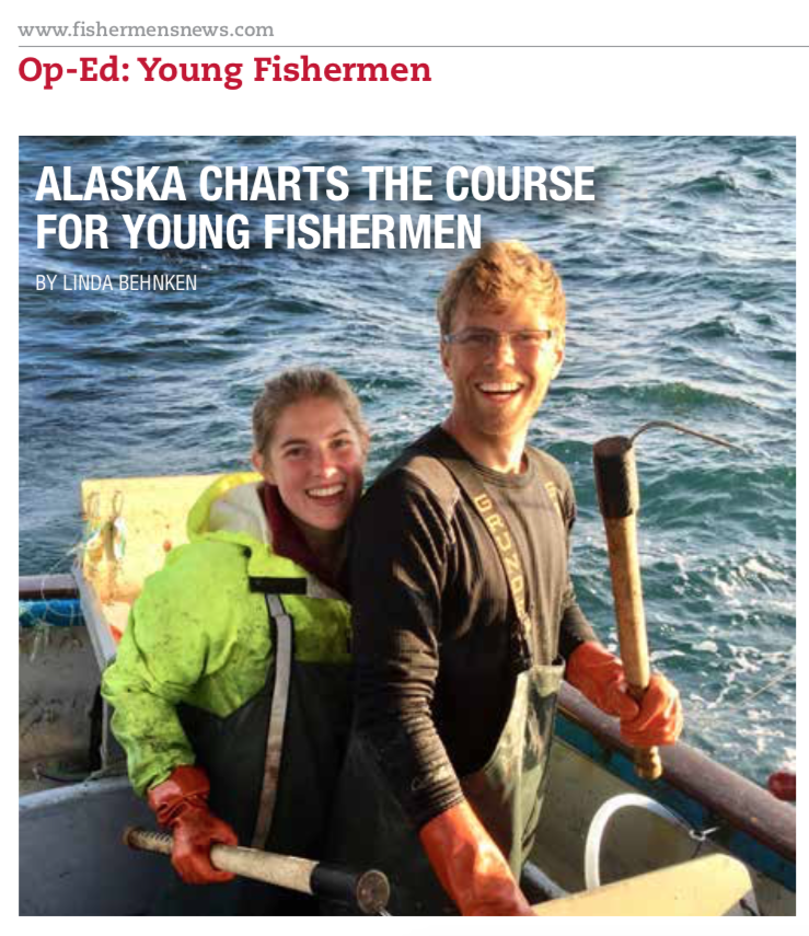 Alaska Charts the Course for Young Fishermen - by Linda Behnken