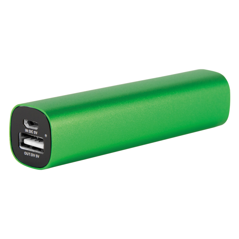 2200 mAh Compact Aluminum Power Bank