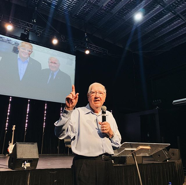 Happy Father's Day!  We were so blessed to have Ps Andrew Evans and his wife Dell with us this morning.  Swipe for highlights!