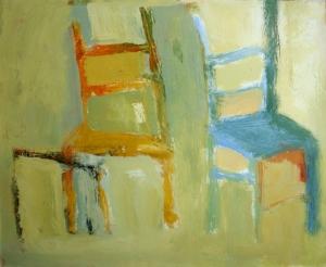 Chair #11, 14x17