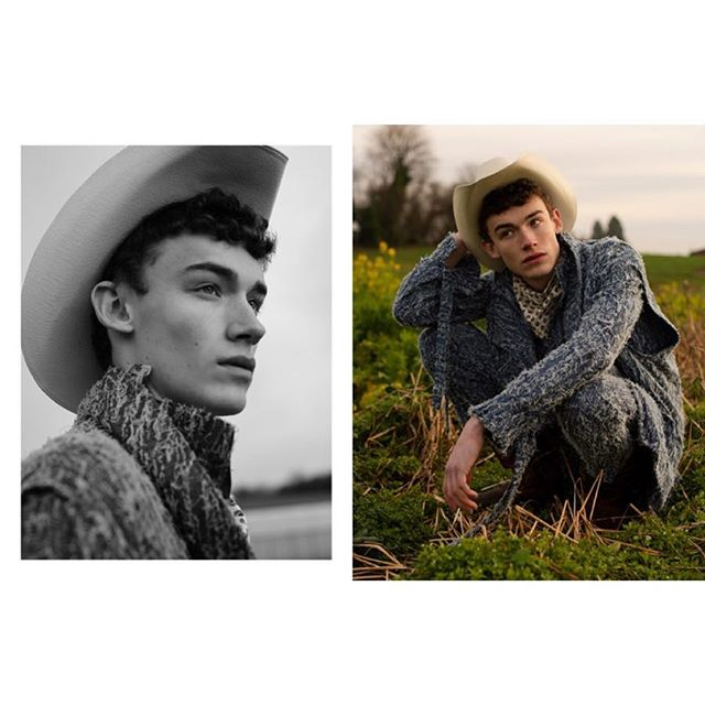 """What's better than waking up to a feature in @schonmagazine ? """"Cowboy on Acid"""" featuring @willllllllll678 with @q6models styled by @rcolestevens and grooming by @hair.tighe wearing @danielgregorynatale . . . . . . . . #fashion #fashionmagazine #menstyle #editorial #mensfashion #fashioneditorial #country #nyc #springstyle #fitmodel #cowboy #malemodel #losangeles #abs #fashionphotography #schon #abs #fitness #physique #ss19 #western"""