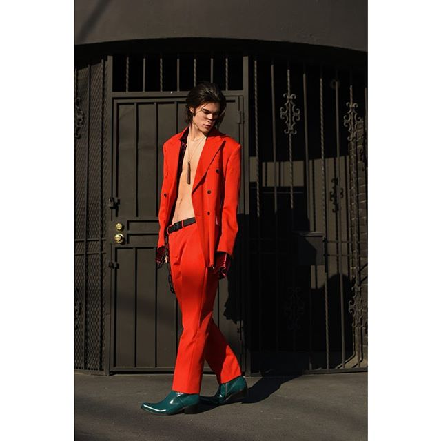 """Bad Guy"" an exclusive for @manofmetropolis styled by @dvlstylist starring @aaronbernards with @nextmodelsla . . . . . . . . . #fashion #fashionmagazine #menstyle #editorial #mensfashion #mensunderwear #briefs #styleinspo #supermodel #leather #men #malemodel #losangeles #abs #fashionphotography #fashioneditorial #abs #nextmodels #physique #malefigure #calvinklein #calvinklein205w39nyc #louisvuitton"