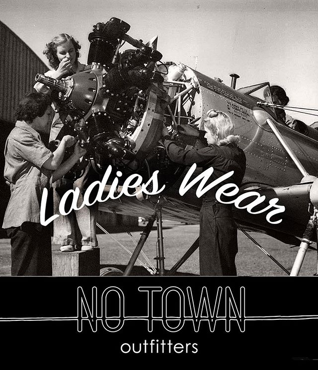 . No Town outfitters is stocking some kit for the ladies. . #notownoutfitters #wherethefuckisnotown
