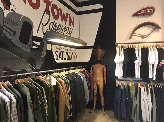 . Racks are full of lots of new Penfield and Edwin stock.  Get on it. We also have some ladies things. . #penfield @penfieldusa #edwin @edwin_japan #notown #wherethefuckisnotown