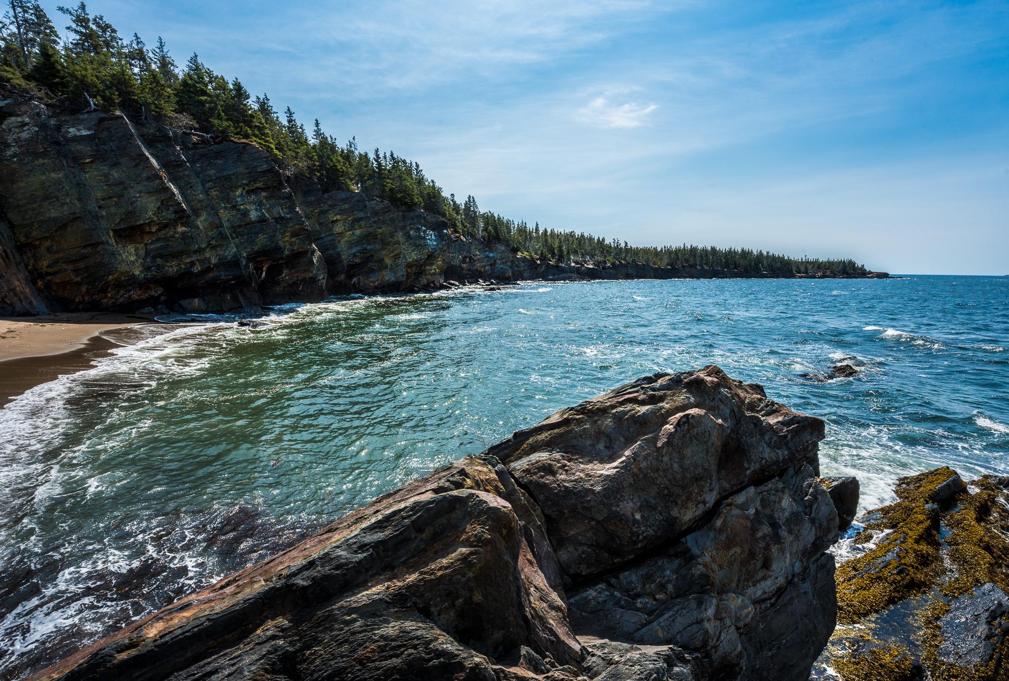 Secret Beach, Gaff Point Trail, Nova Scotia