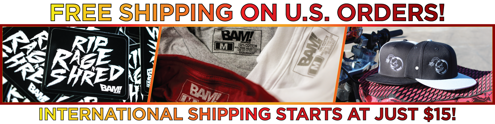 Bam Shop Banner