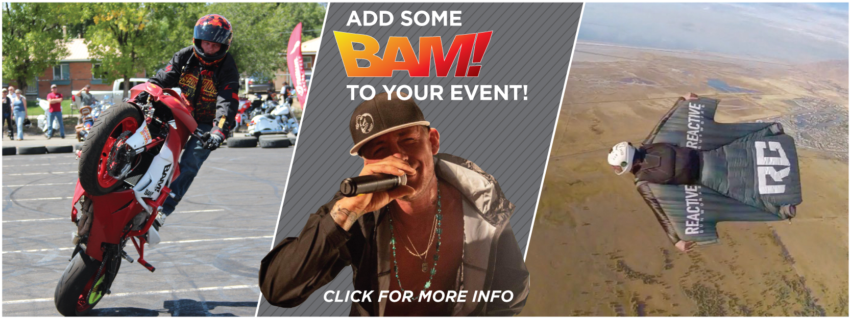 Bam Events Banner