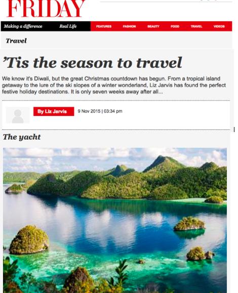 Gulf News Friday Magazine November 2015 - 1.jpg