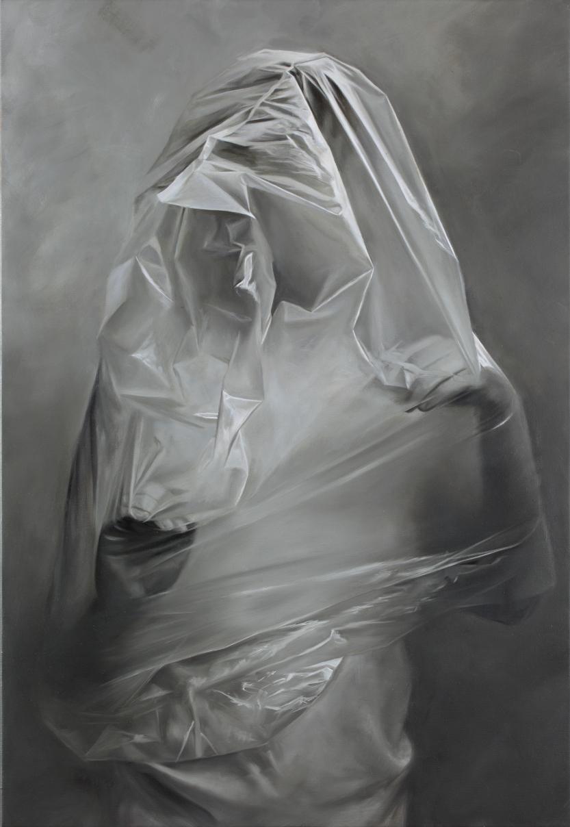 ERIKA GOFTON  Threshold . 2016 oil on canvas 81 x 56 cm