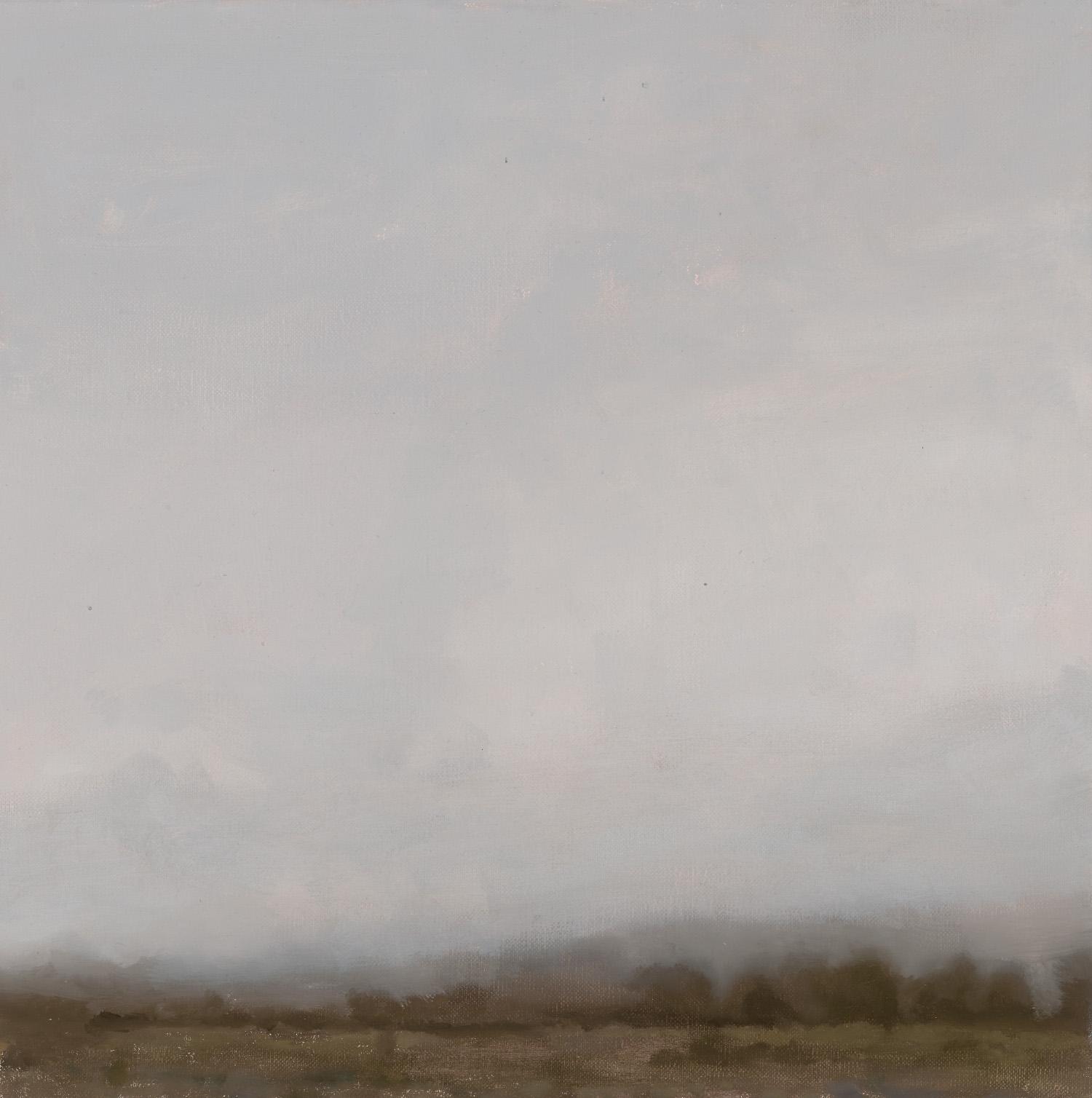 GREG WOOD  Ovid,  2015 oil on linen, framed 41 x 41 cm SOLD