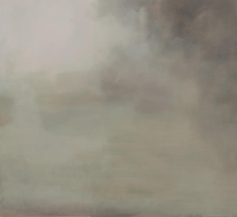GREG WOOD  Strettle,  2013 oil on linen, framed 114 x 124 cm SOLD