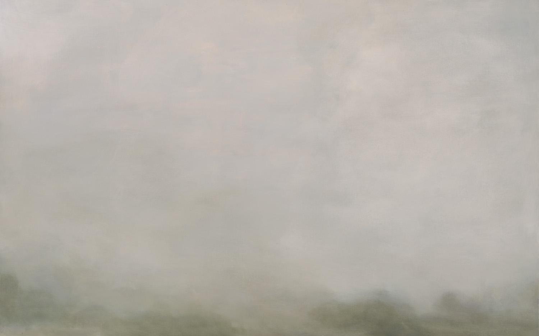 GREG WOOD  Whitton,  2016 oil on linen, framed 79 x 125 cm SOLD