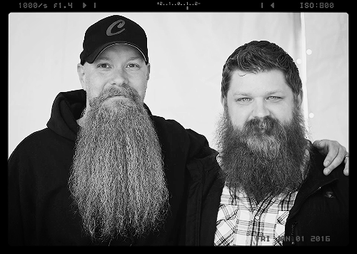 Great beards, good peoples, great times!!! This picture is of Josh and I a couple years ago at The Maple Festival Beard competition. Such a great dude!