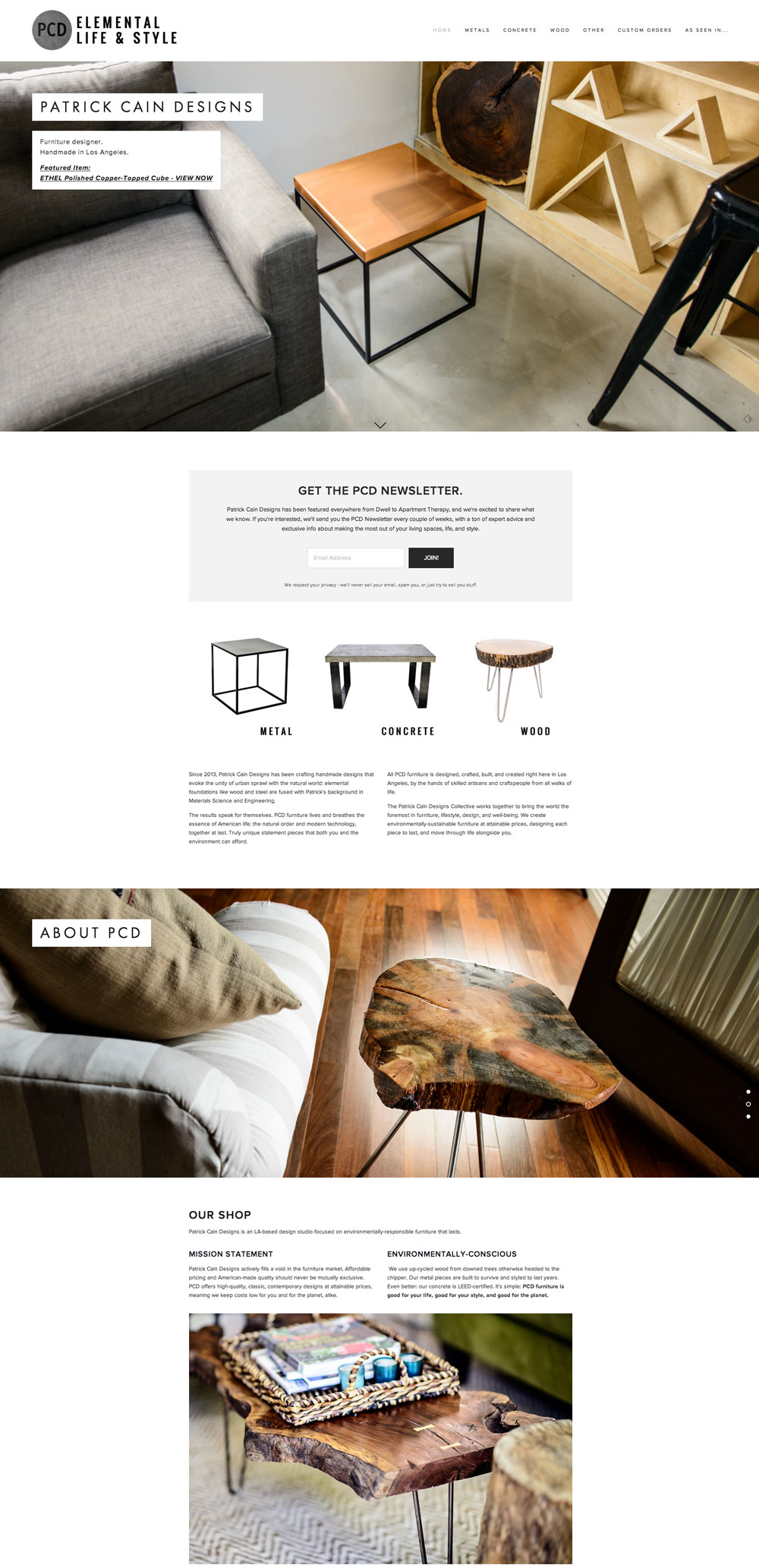 Patrick Cain Designs