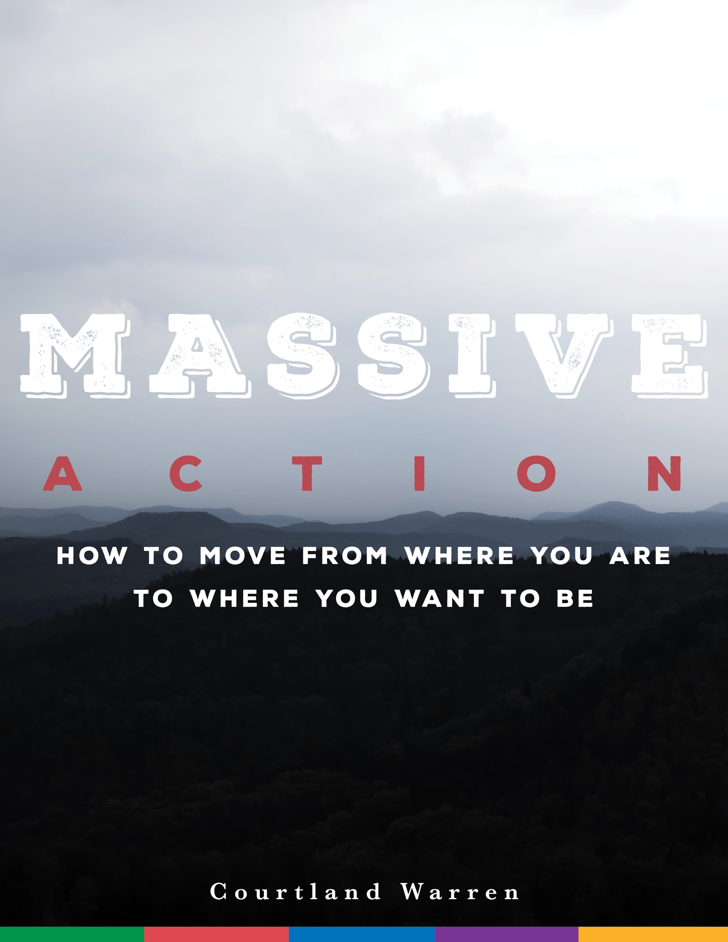 Massive Action eBook (cover, interior design & layout, also wrote)