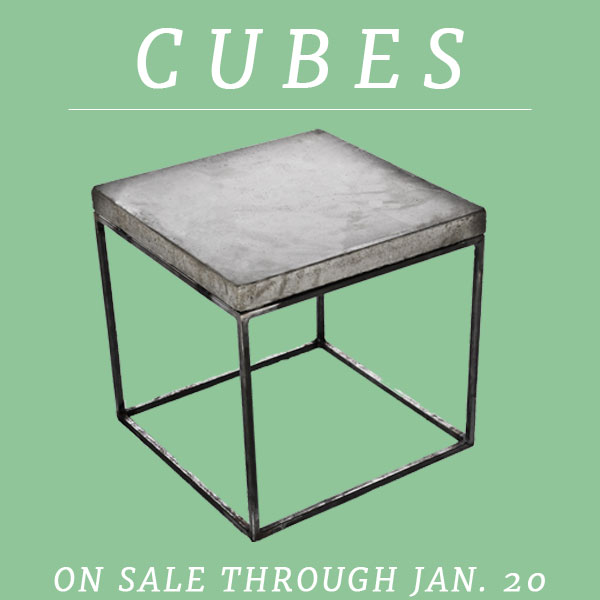 Cube Sale Email Image
