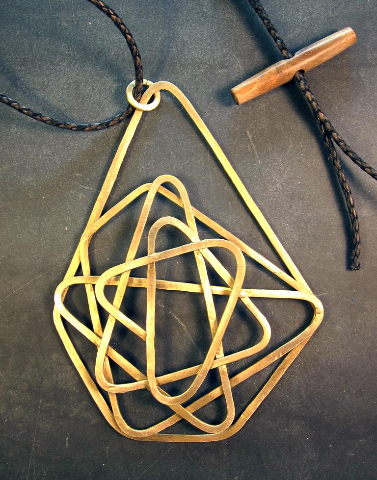 Gordian Knot  Brass