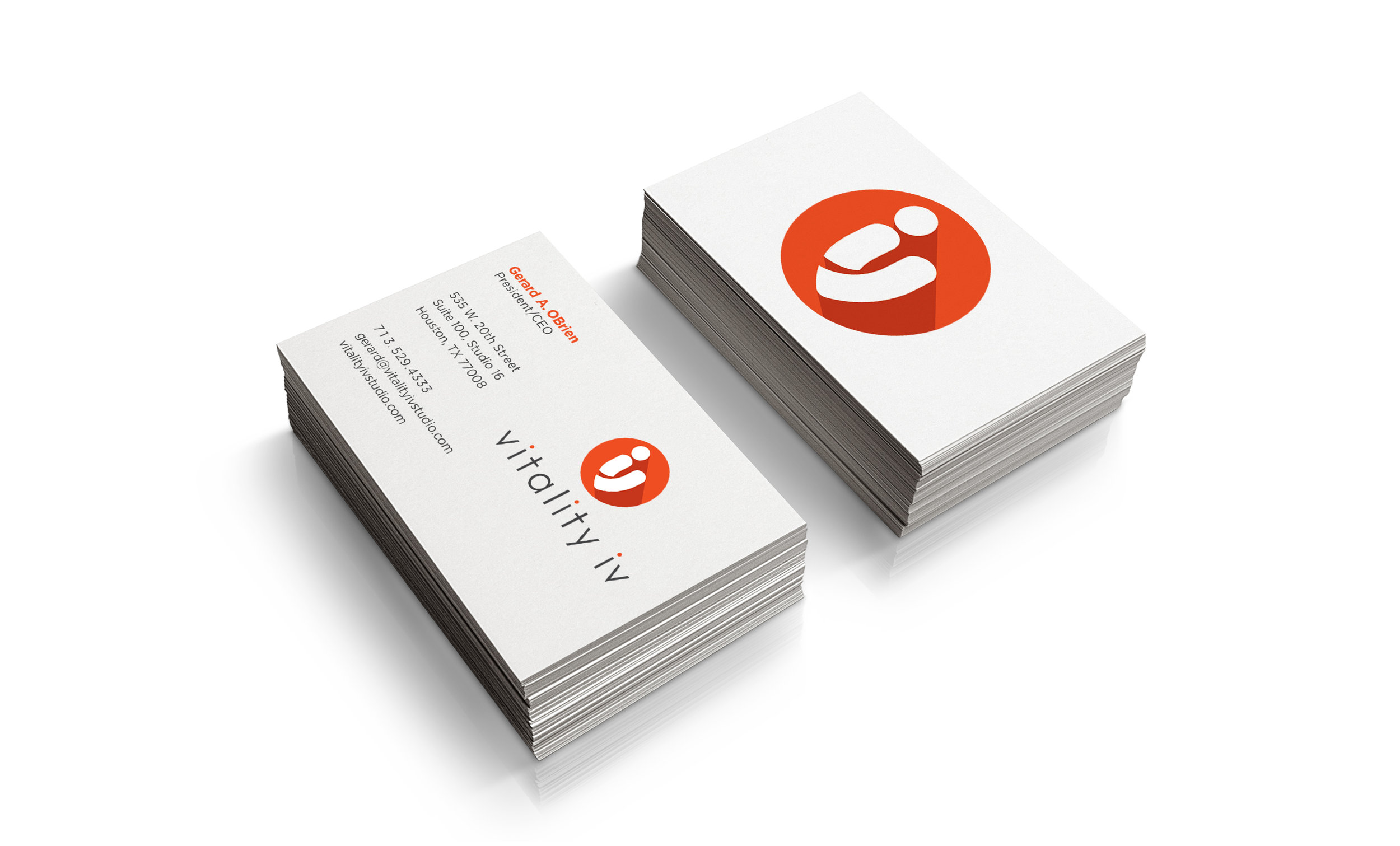 Vitality IV Business Card