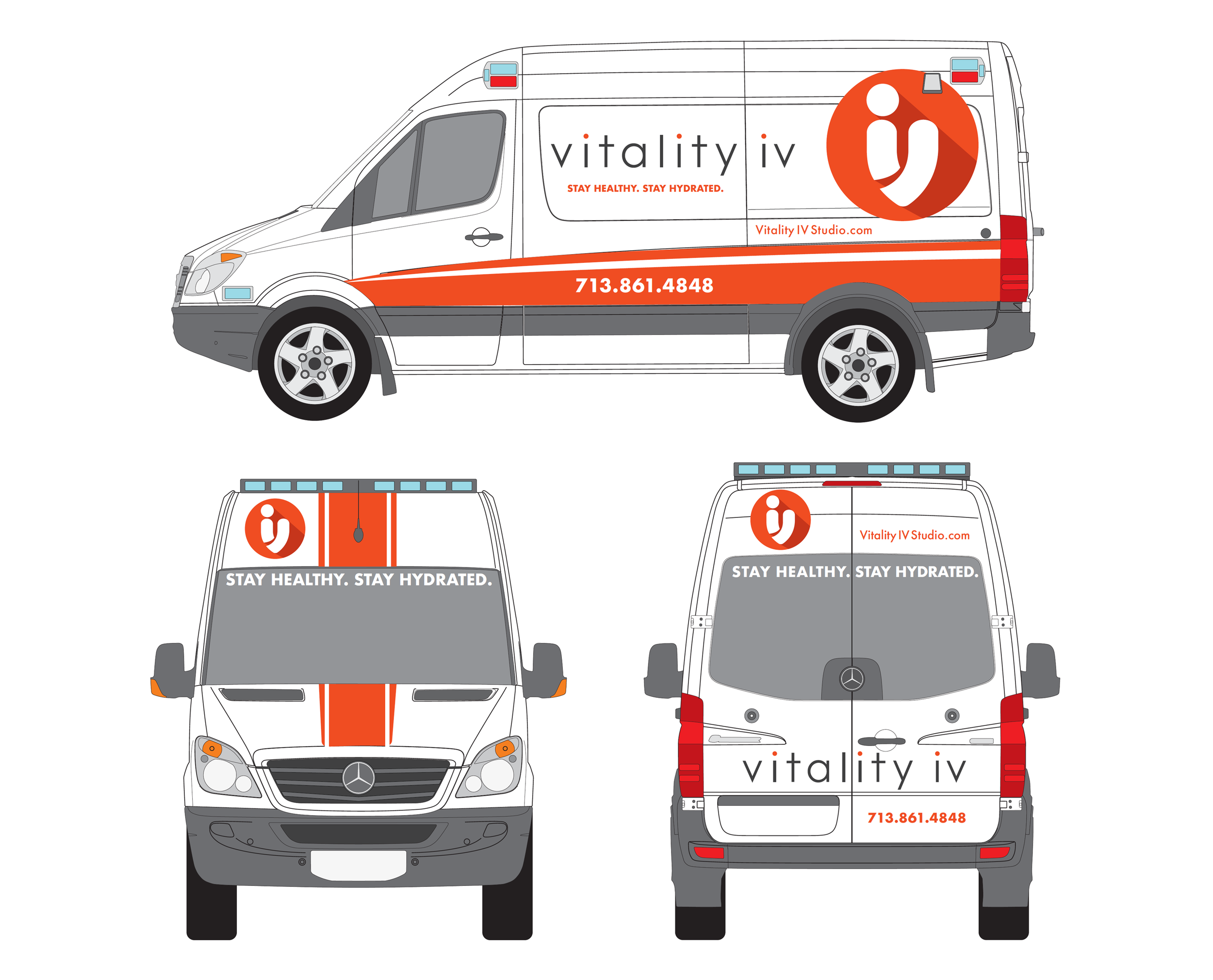 Vitality IV Mobile Unit Van