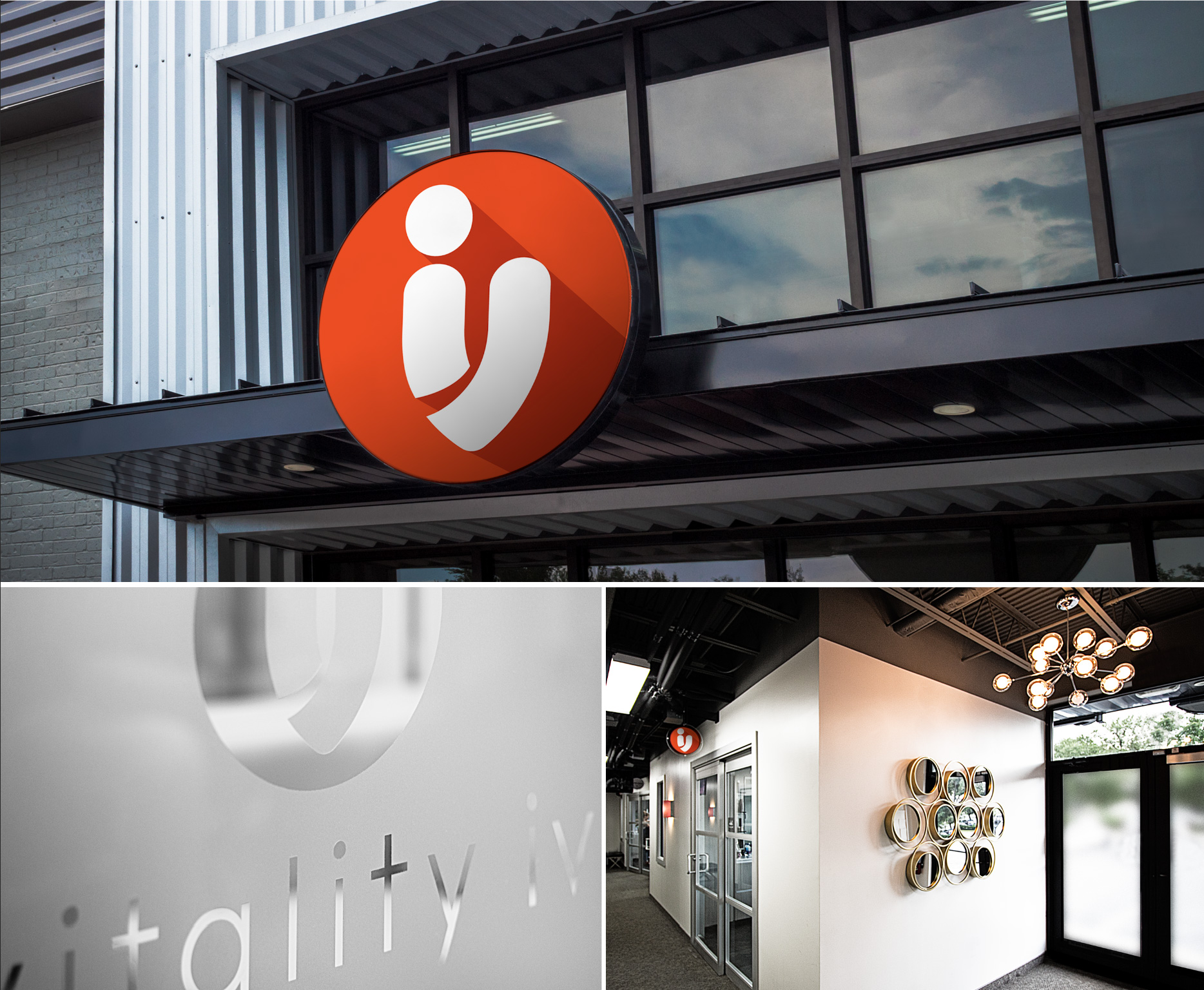 Vitality IV Office Signage