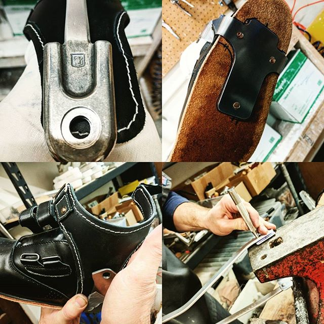 Conventional AFO brace by Erik, in progress. . . . #aalseattle #americanartificiallimb #seattle #smallbusiness #orthotics #afobrace  #oandp #prosthetics #engineeredbyerik #workinprogress