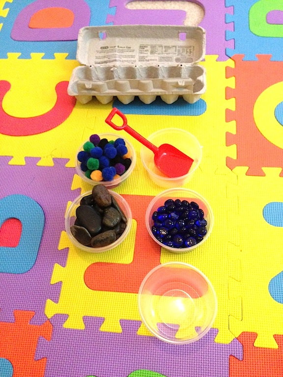 Sorting Objects from Dollar Tree