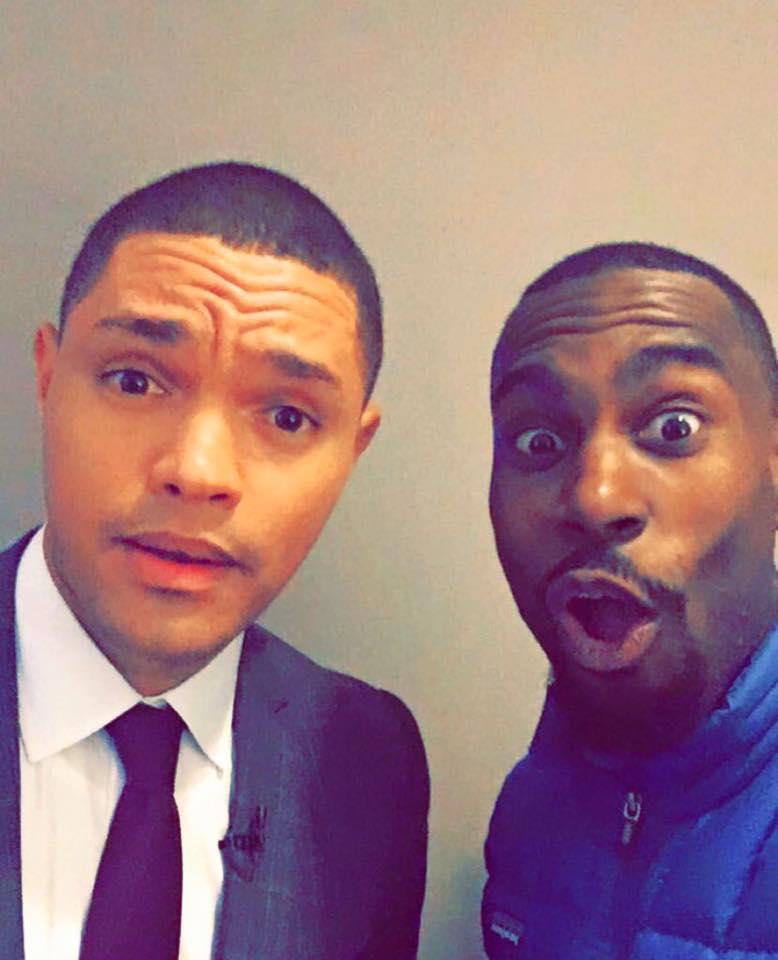 The Daily Show's Trevor Noah and Deray Mckesson