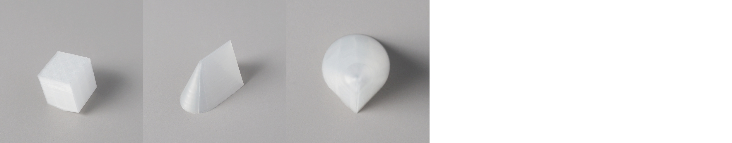"""Form study: Combined  Series   Size: 4"""" x 4""""   Material: PLA"""